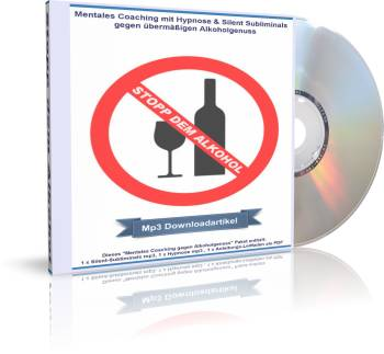 Stopp dem Alkohol - CD Cover